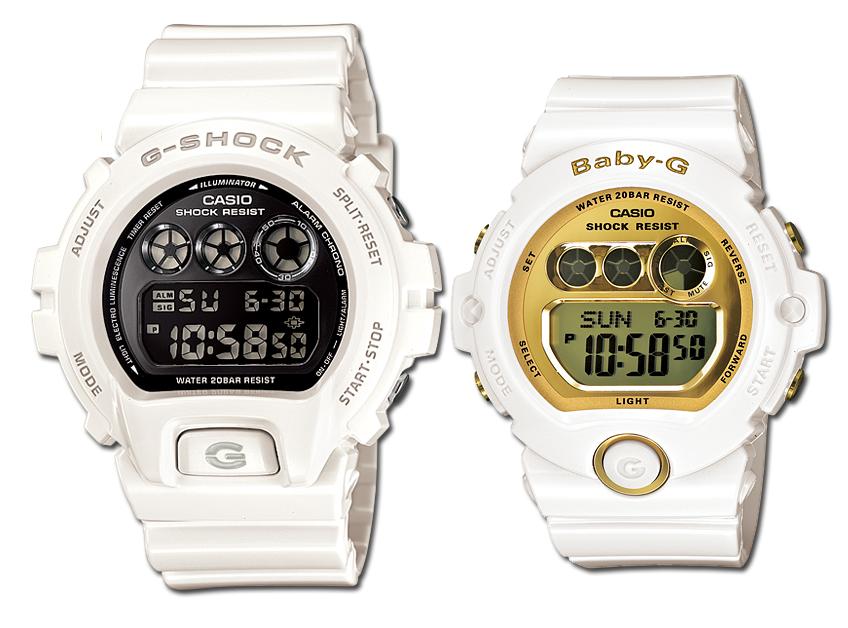 นาฬิกา Casio G-Shock SETคู่รัก รุ่น DW-6900NB-7 คู่ BG-6901-7 Pair set ของแท้ รับประกัน 1 ปี