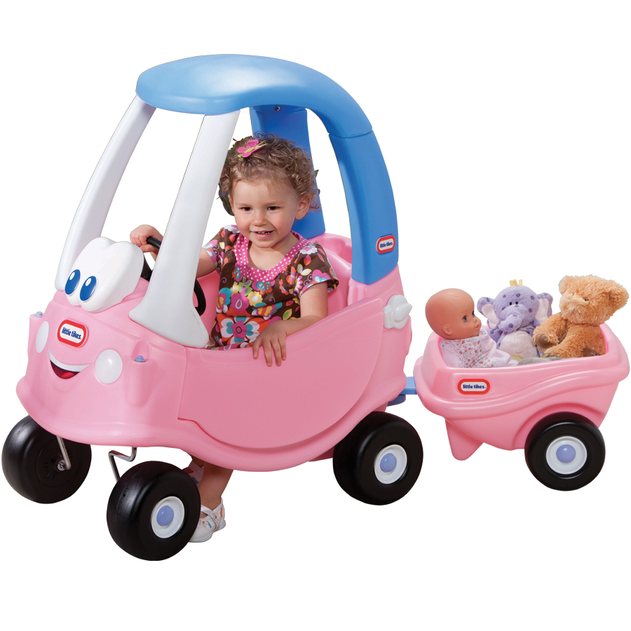 Pink cosy coupe specialist car and vehicle - Little tikes cozy coupe pink ...