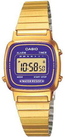 นาฬิกา คาสิโอ Casio STANDARD DIGITAL รุ่น LA-670WGA-6D