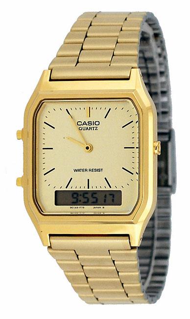 นาฬิกา คาสิโอ Casio STANDARD ANALOG-DIGITAL รุ่น AQ-230GA-9DMQD