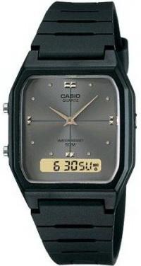 นาฬิกา คาสิโอ Casio STANDARD ANALOG-DIGITAL รุ่น AW-48HE-8A