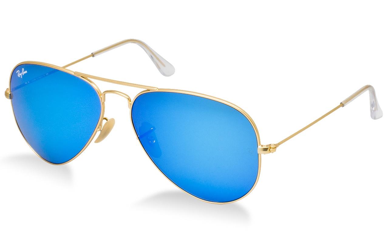 แว่นกันแดด Ray Ban Aviator RB3025 112/17 Blue Mirror Lens