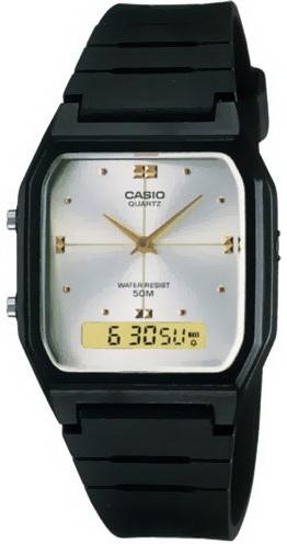 นาฬิกา คาสิโอ Casio STANDARD ANALOG-DIGITAL รุ่น AW-48HE-7A