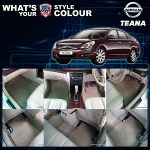 พรมกระดุม Original ชุด Full จำนวน 12 ชิ้น Nissan Teana 2009-2013