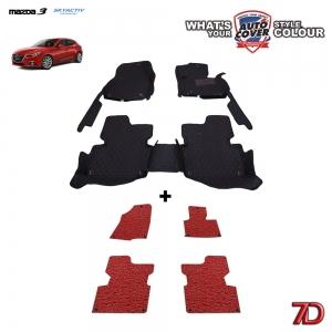 พรมรถยนต์ 7 D Anti Dust รถ MAZDA 3 SKYACTIV 4-5 DOOR 2014-2017