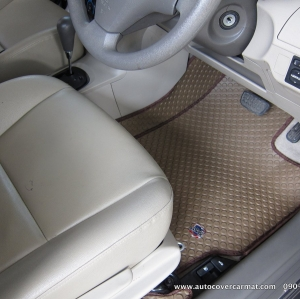 พรมกระดุม Super Save ชุด Full จำนวน 11 ชิ้น Toyota Vios 2008-2012