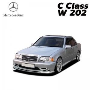 พรมดักฝุ่นไวนิล ชุด Full จำนวน 5 ชิ้น Benz C Class W 202