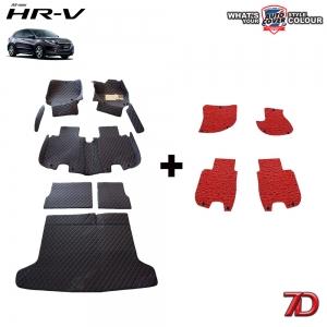 พรมรถยนต์ 7 D Anti Dust รถ HONDA HRV 2015-2019