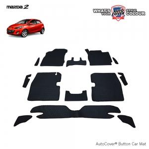พรมกระดุม Super Save รถ MAZDA 2 รุ่น 4-5 Door ปี 2009-2014 ชุด Full จำนวน 13 ชิ้น