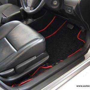 พรมดักฝุ่นไวนิล รถ Toyota Vios ปี 2008-2012 ชุด Full จำนวน 9 ชิ้น