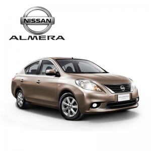 พรมดักฝุ่นไวนิล ชุด Full จำนวน 16 ชิ้น Nissan Almera