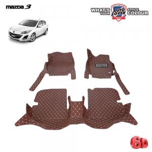 พรมเข้ารูป 6D รถ MAZDA 3 (BL) 4-5 DOOR 2011-2014 จำนวน 3 ชิ้น