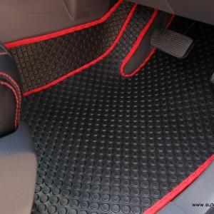 พรมกระดุม Super Save ชุด Full จำนวน 12 ชิ้น Ford Ranger 4 Door 2012-2018