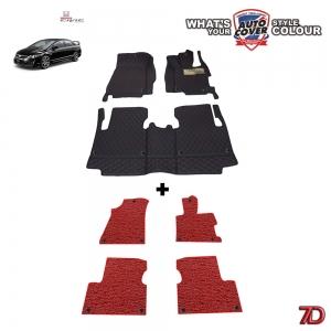 พรมรถยนต์ 7 D Anti Dust รถ HONDA CIVIC FD 2006-2012 ชุด 4+3 ชิ้น
