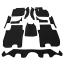 พรมกระดุม Super Save ชุด Full จำนวน 12 ชิ้น Honda All New Jazz GK 2014-2019 thumbnail 2