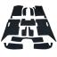 พรมกระดุม Super Save ชุด Full จำนวน 12 ชิ้น Ford Ranger 4 Door 2012-2018 thumbnail 6
