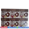 Kaami donut soap สบู่กลูต้าโดนัท ชาโคลคอฟฟี่ (ชนิคแพ็ค)