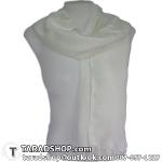 ผ้าพันคอ รับลมหนาว ชาวเหนือ สีขาว เบอร์ 3