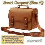 กระเป๋ากล้องกันน้ำ คุณภาพดี Smart Compact Size M สำหรับกล้อง เช่น XA2 650D D7000 ฯลฯ แคนวาสกากี