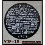 แผ่นปั๊มลายเล็บ รหัส YJF-18
