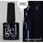 สีทาเล็บเจล R.G.B-080
