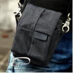 กระเป๋ากล้องเล็ก Window Bag สีเทาดำ (Pre Order)