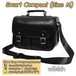 กระเป๋ากล้องกันน้ำ คุณภาพดี Smart Compact Size M สำหรับกล้อง เช่น XA2 650D D7000 ฯลฯ หนังสีดำ