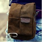 กระเป๋ากล้องเล็ก Window Bag สีน้ำตาล (Pre Order)