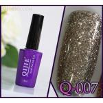 สีเจล QIJIE กากเพชรเข้มข้น รหัส Q-007