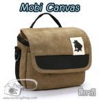 กระเป๋ากล้อง Mirrorless รุ่น Mobi Canvas สำหรับ XA2 GF7 A5100 A6000 EPL7 EM10 NX2000 สีกากี