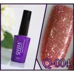 สีเจล QIJIE กากเพชรเข้มข้น รหัส Q-004