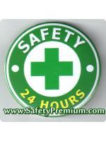 เข็มกลัด SAFETY 24 HOURS