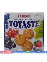 Totaste mini fruit biscuits (ชนิดกล่อง)