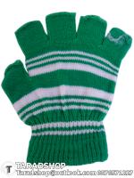 ถุงมือกันลื่น เต็มนิ้ว (เขียวผสมขาว)