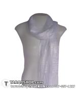 ผ้าพันคอ รับลมหนาว ชาวเหนือ สีขาว เบอร์ 5
