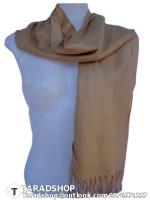 ผ้าพันคอ รับลมหนาว ( สีน้ำตาล )