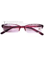 แว่นสายตา สตรี-บุรุษ (สีเหลืองอ่อนผสมขาว)