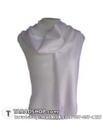 ผ้าพันคอ รับลมหนาว ชาวเหนือ สีขาว เบอร์ 2