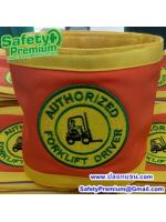 ปลอกแขน Authorized Forklift Driver