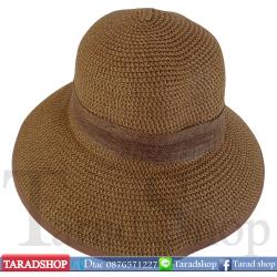 หมวกฟาง ( สีน้ำตาลเข้ม )