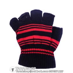ถุงมือกันลื่น เต็มนิ้ว (แดงผสมดำ)