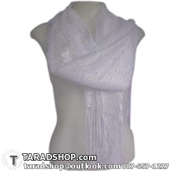 ผ้าพันคอ รับลมหนาว ชาวเหนือ สีขาว เบอร์ 6