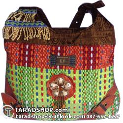 กระเป๋าแฟชั่นล้านนา คุณภาพ (จากทิเบต)รูปแบบหลายผสม