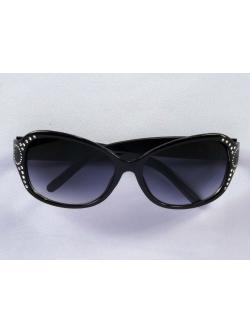 แว่นกันแดด สีดำเข้ม