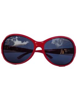 แว่นแฟชั่นเด็ก (สีแดง)