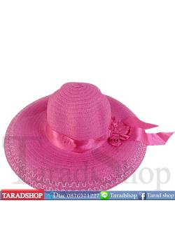หมวกฟาง ( ชมพู )