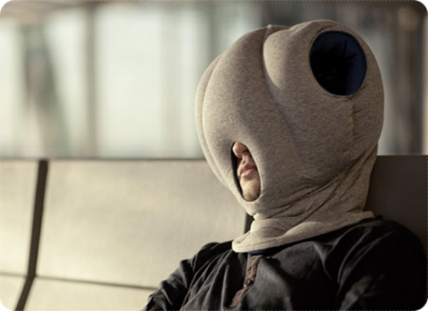 หมอนนกกระจอกเทศ นอนสบายได้ทุกที่