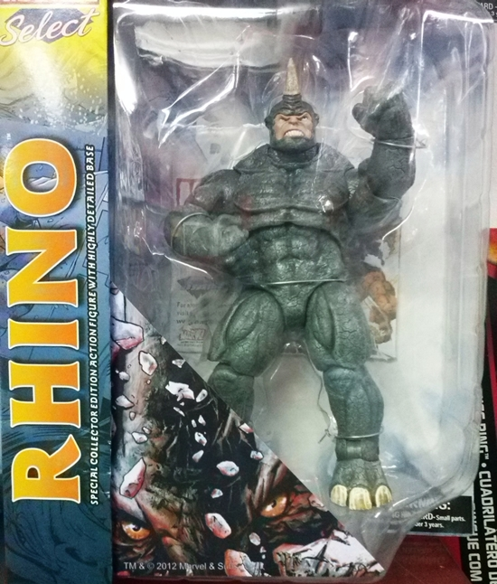 Marvel Select: Rhino 9 inch Action Figure NEW