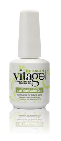 Strength - VitaGel - LED/UV Light Cured บำรุงหน้าเล็บ ทาแทนBase