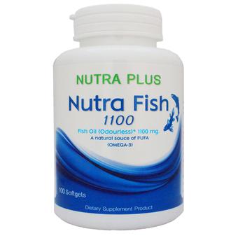 Nutra fish 1100ทเ 100เม็ด น้ำมันปลา สำเนา